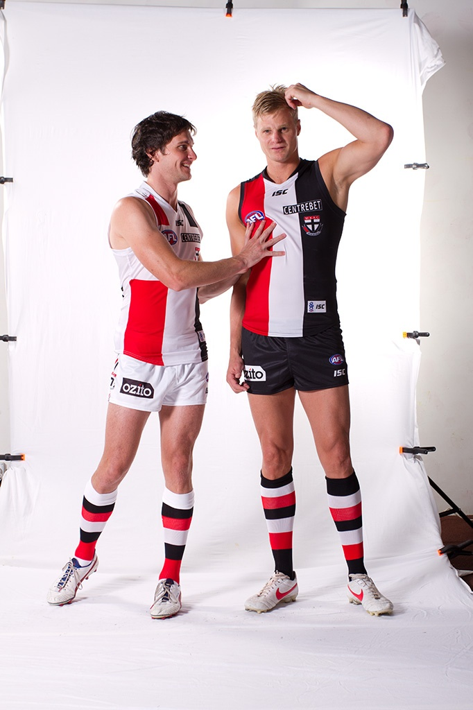 St Kilda Saints at the ISC photoshoot