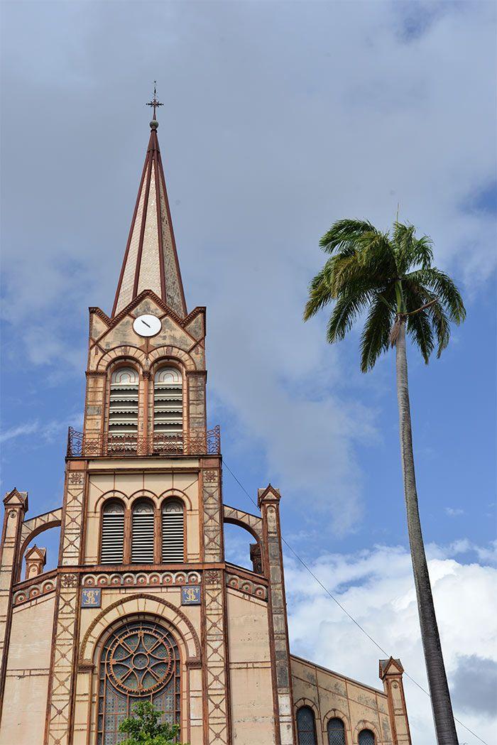 Visite de Fort-de-France en Martinique, Antilles françaises