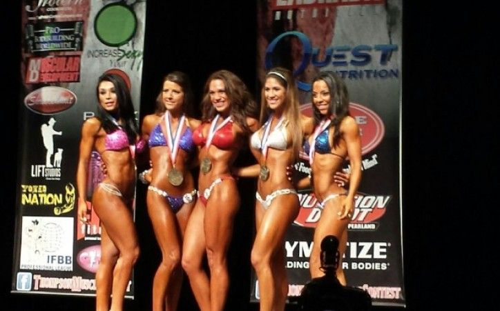 how to train for a bikini competition on your own