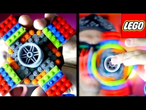 How to make a Lego fid spinner Boys