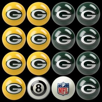 Use this Exclusive coupon code: PINFIVE to receive an additional 5% off the Green Bay Packers Billiard Ball Set at SportsFansPlus.com