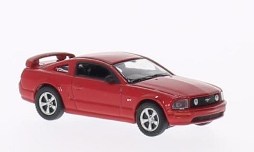Ford Mustang GT 2005 rot 1:87 Welly