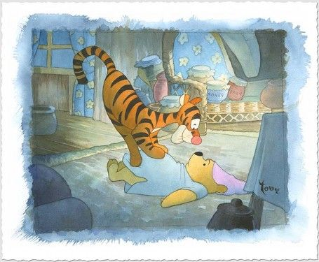 Tigger Tackle by Toby Bluth