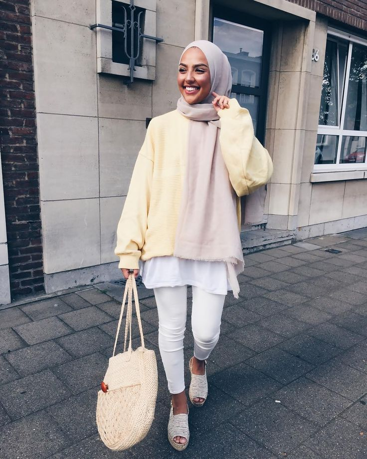 Pin by Aassyah on Style | Modern hijab fashion, Hijab ...