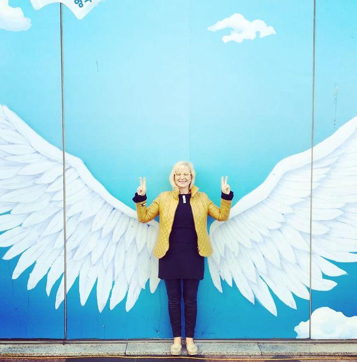 Charlien enkelinä Soulissa. Charlie's Angels #seoul #somefi #finnishlady #visitseoul #finnsinkorea #finland