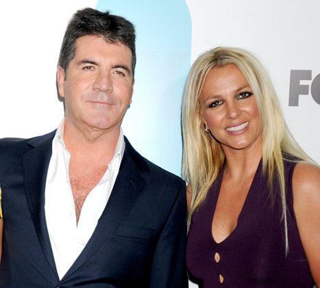 Is Simon Cowell Wondering If Hiring Britney Spears Was A Good Idea...?