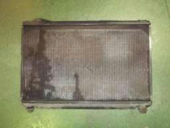 Radiator leaking from core & tank