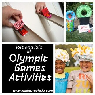 Olympic Games: Activities and Games