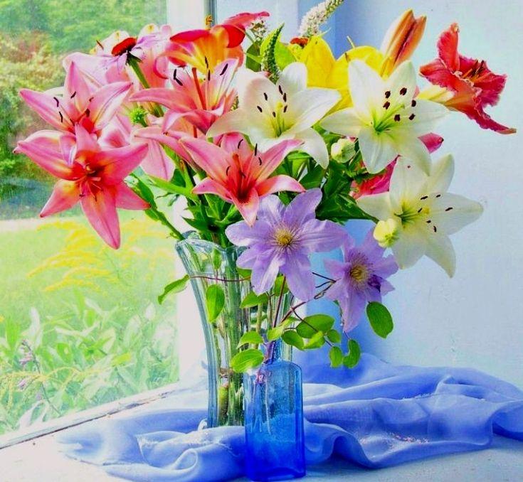 скачать поздравляю картинки с лилиями владельцы