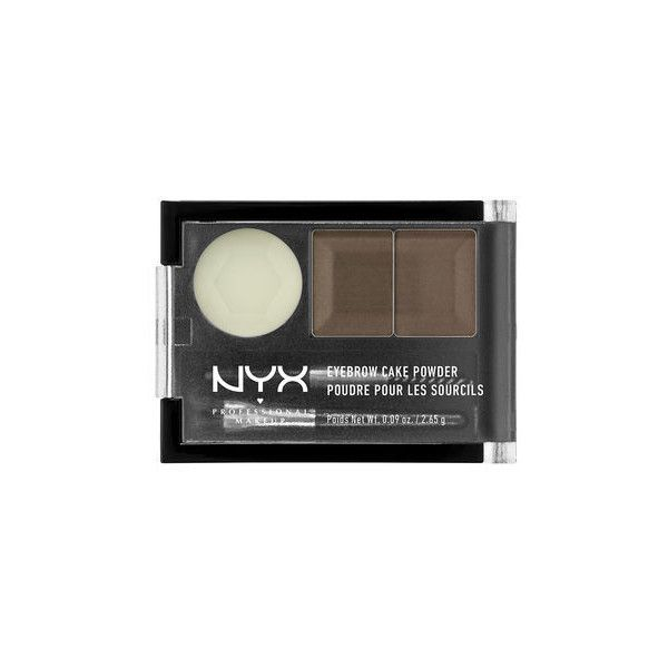 Eyebrow Cake Powder ($6) ❤ liked on Polyvore featuring beauty products, makeup, face makeup and face powder
