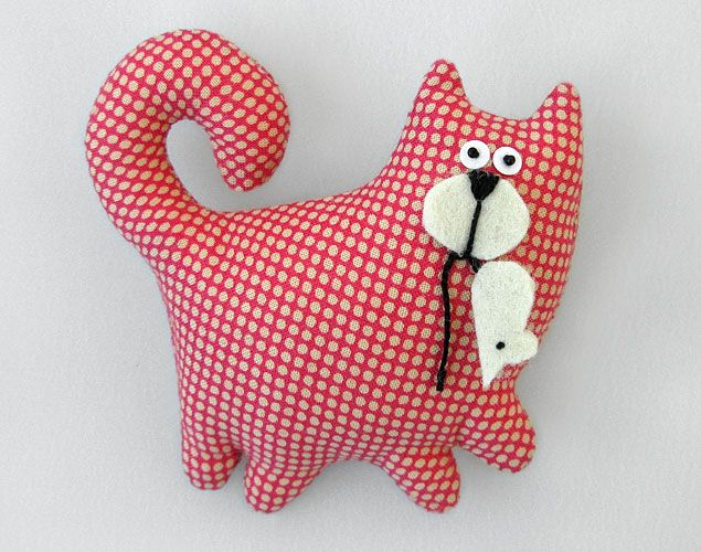 кошка-брошка оп-арт