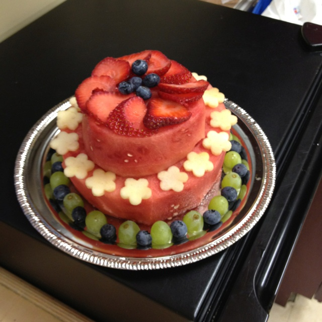 "A Real ""fruit Cake!"" Alternative To A Birthday Cake For My"