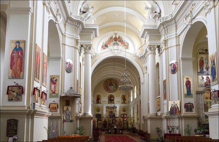 Lwów.Kościół Sakramentek