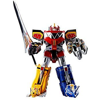 Amazon.com: Bandai Tamashii Nations Soul of Chogokin Mighty Morphing Power Rangers Action Figure: Toys & Games
