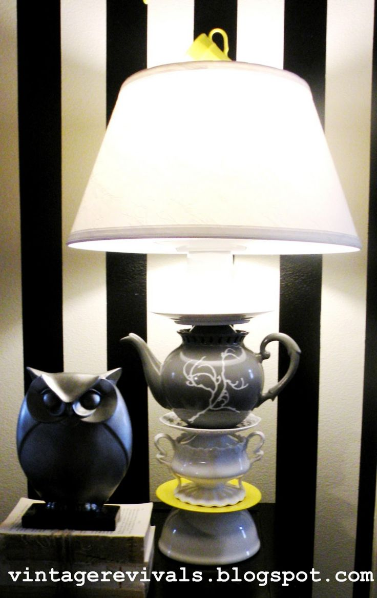 The 25+ best Teapot lamp ideas on Pinterest | DIY upcycled lamp ...