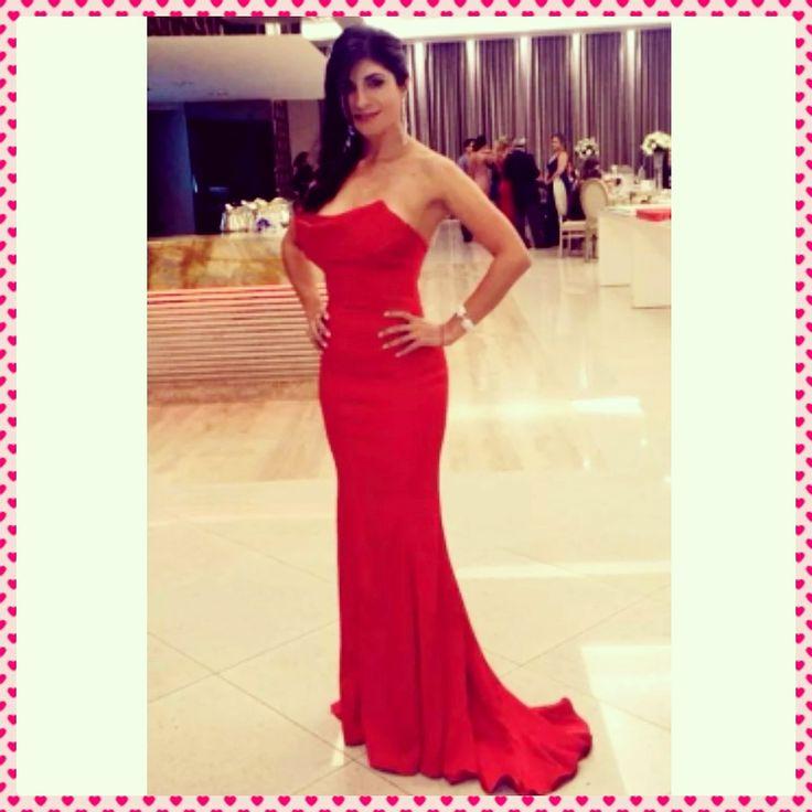 Luxo!Dress red