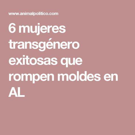 6 mujeres transgénero exitosas que rompen moldes en AL
