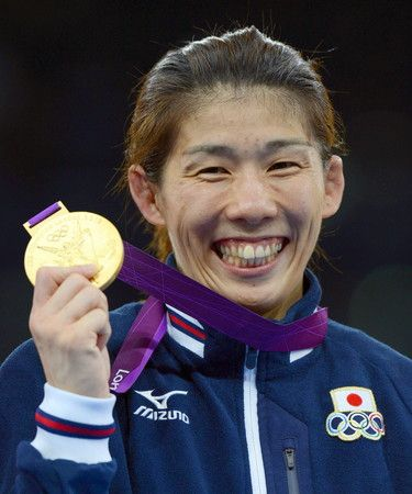 Saori Yoshida / wrestler.  She wins a gold medal by the Olympics three times.  And 12 times win the championship at the wrestling world championship.