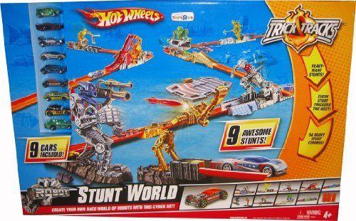 Hot Wheels Trick Tracks Stunt World By Mattel 199 77