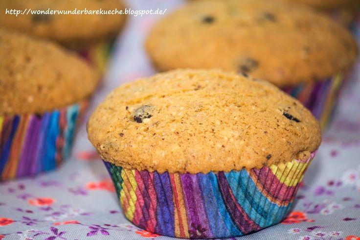 Mandel-Muffins mit Schokotröpfchen