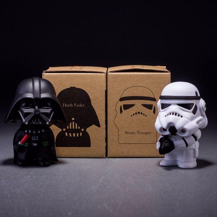 Star Wars Decoration Dolls Black Knight Darth Vader & STORM TROOPER Stormtrooper Juguetes Action Figure Model Kids Toy Gifts