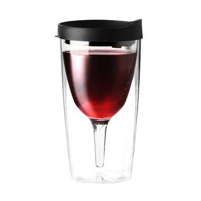 Latitude Run Kona Grove 10 Oz. Wine Tumbler Color: