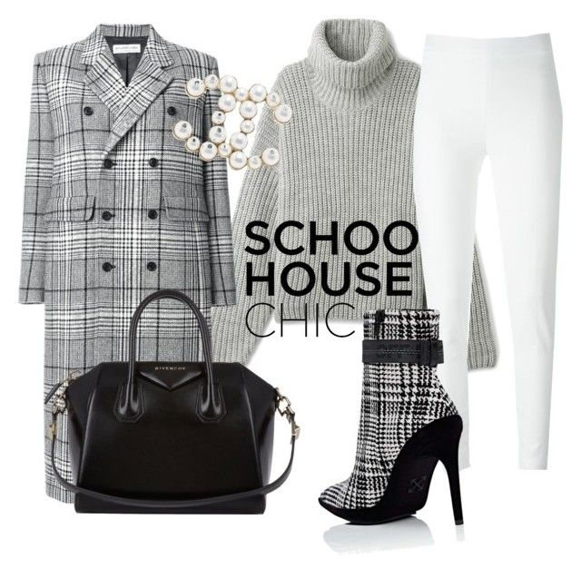 """""""Work hard"""" by sneakeraddicted ❤ liked on Polyvore featuring Balenciaga, Moschino, Off-White, Givenchy and Chanel"""