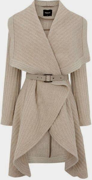 Oasis England Drape Coat