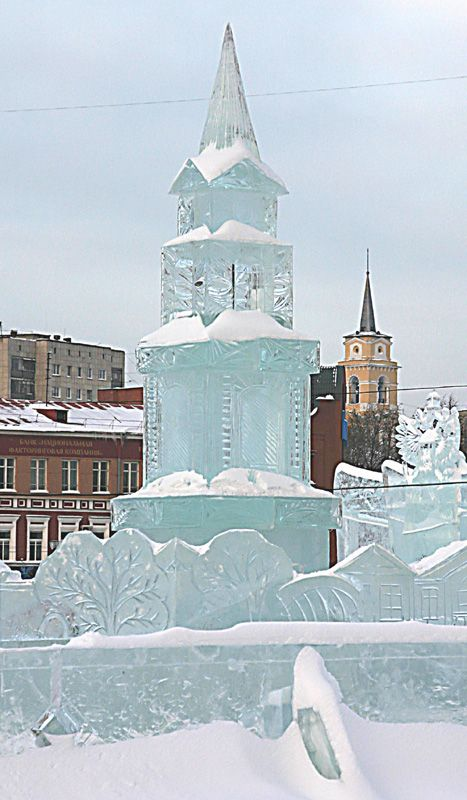 The Ice Town, Perm, Russia Copyright: Serghei Pakhomoff