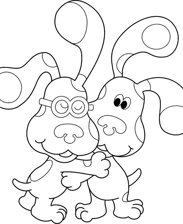 street art coloring pages nickjrs blues clues coloring book printables