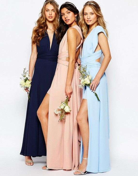 Spring bridesmaid dress & accessories from ASOS