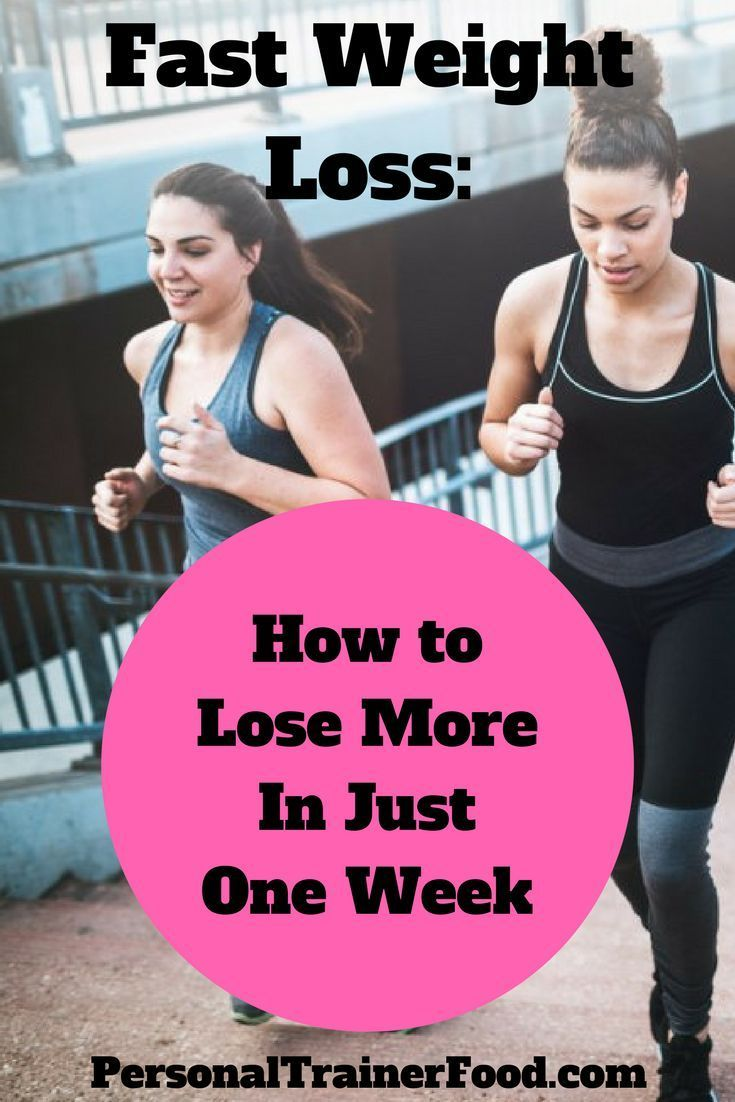 Fast Weight Loss: Steps to Lose Weight in a Week