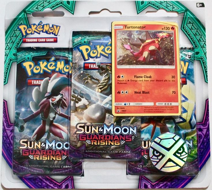Pokemon Sun & Moon Guardians Rising booster packs, holographic card & coin, new #Pokemon