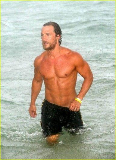 McConaughey: Eye Candy, Matthew Mcconaughey, Matthewmcconaughey,  Bath Trunks, Hello Hottie, Beaches Body, Hot Guys, Hot Men, Favorite People