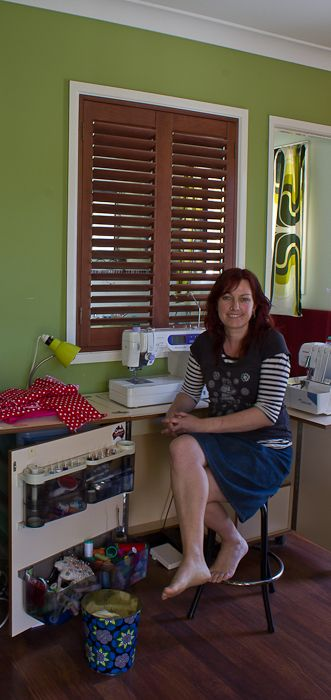 Brisbane creative home – Donna from 'Kiss My Patootie'