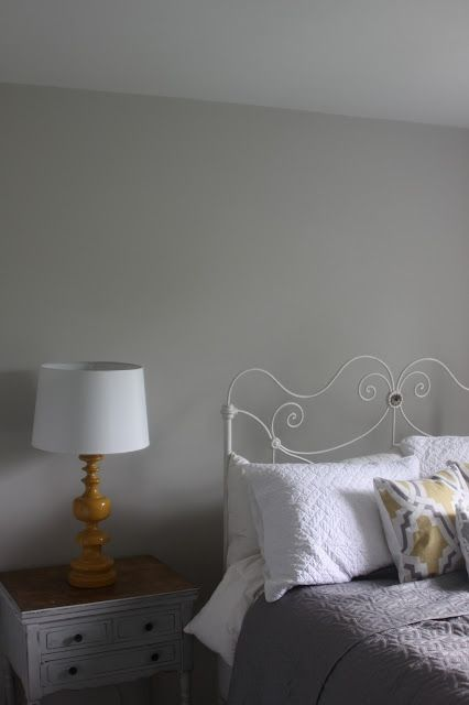 Repose Gray Bedroom: Sherwin Williams