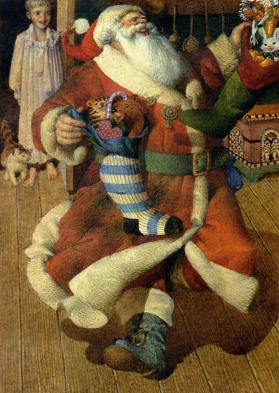 Gennady Spirin, The Night Before Christmas: