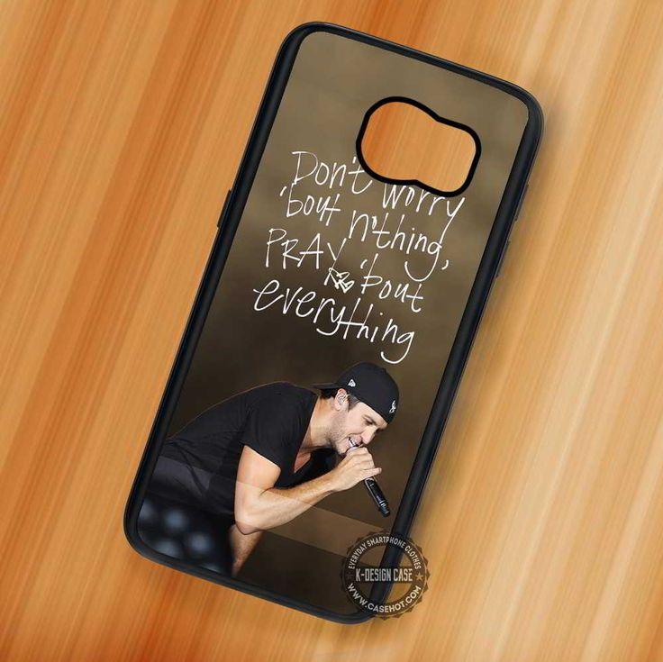 Luke Bryan Lyric Music Country - Samsung Galaxy S7 S6 S5 Note 7 Cases & Covers