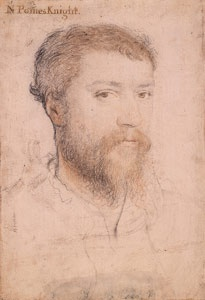 An unidentified man 16th century Follower of Hans Holbein the Younger