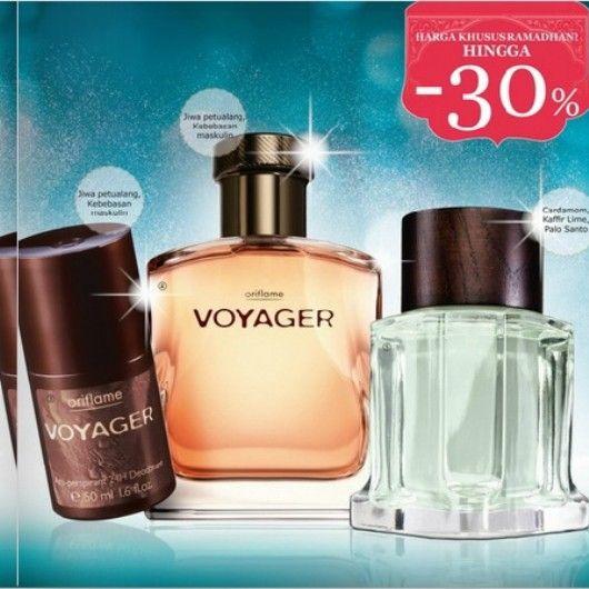 Koleksi parfum pria by #oriflame