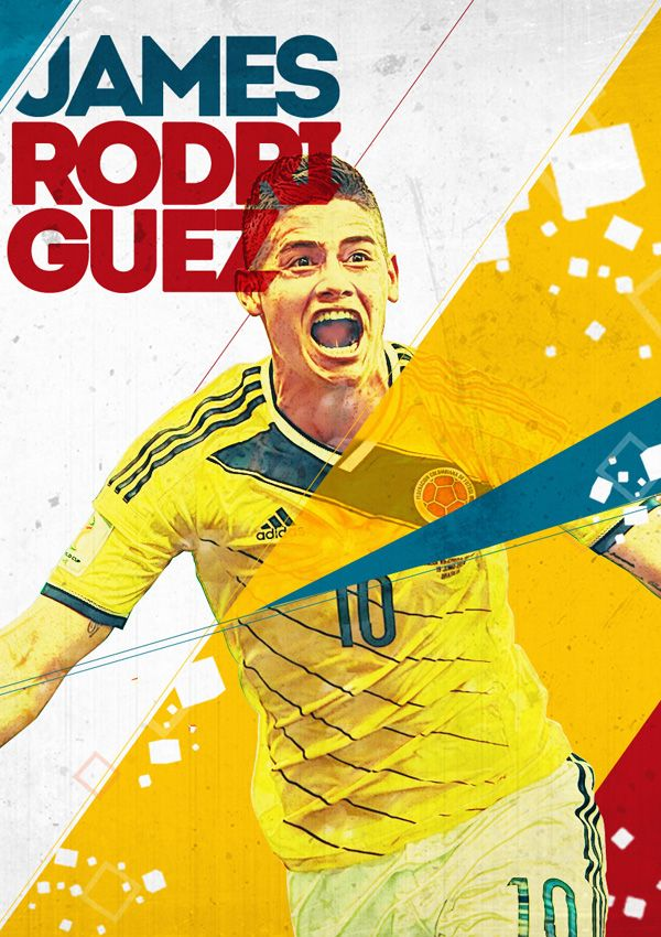 World Cup 2014 Posters by Evandro Salmeirão,  [ ProTuffDecals.com ] #posters #decal #sports