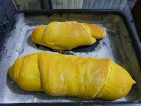Comer e Pensar: Pão de abóbora Cabotiã com gotas de chocolate