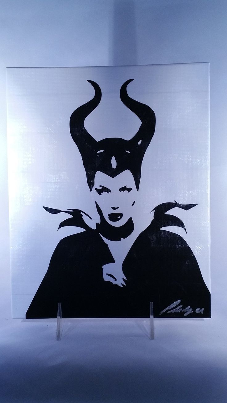 Duct Tape Art Piece of Maleficent. This unique piece of art is HAND CUT out of Duct Tape! It is then covered with a sealant to protect from pealing, dust and moisture which gives it a painted look. It measures 8x10 inches and is ready to frame. My pieces are made to order, so if there is a specific color combo you'd like, please let me know!.
