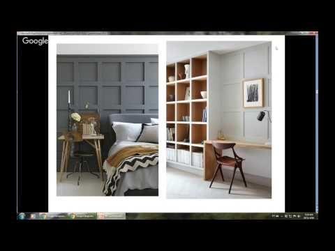 Техники покраски мебели меловой краской - YouTube