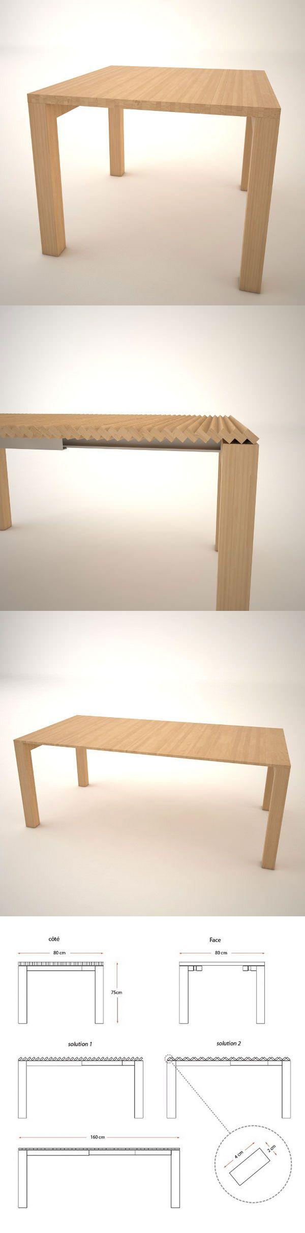 17 meilleures id es propos de table extensible sur pinterest magasins de - Solde table a manger ...