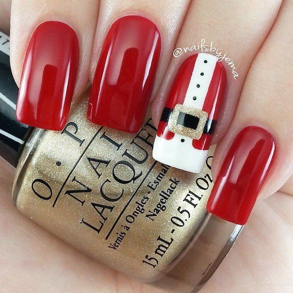 Beautiful new year's nail, Nail Design 2016, Nails ideas 2016, New Year nails…
