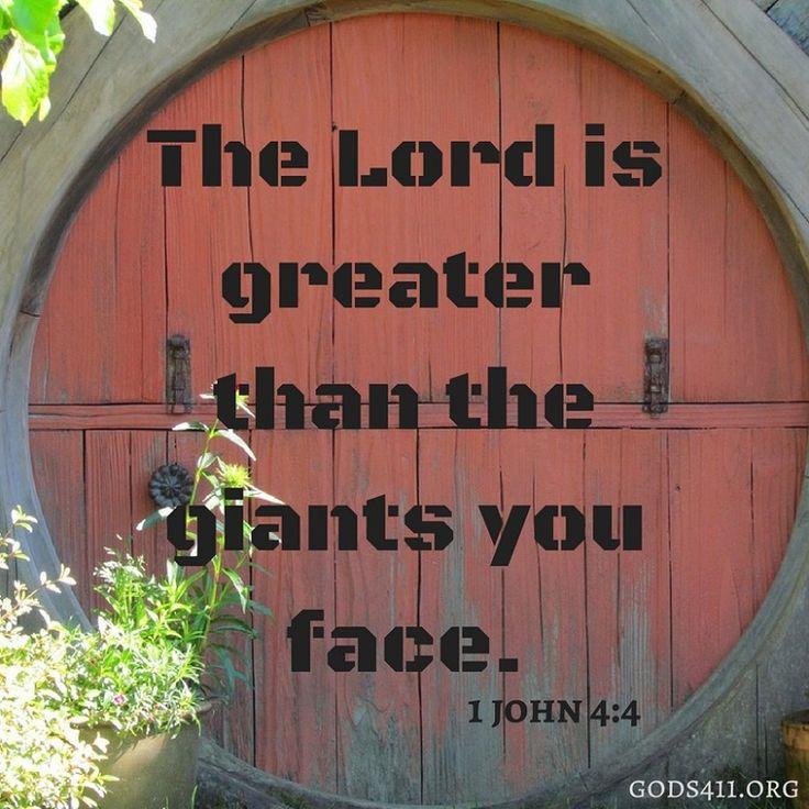 1 John 4:4 | Bible Verses