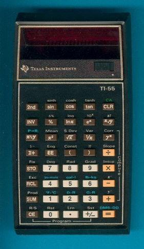 TI-55 Programmable. This is the first scientific I ever had.