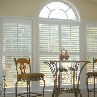 Hunter douglas window blinds and custom shutters on pinterest - Hunter douglas interior shutters ...