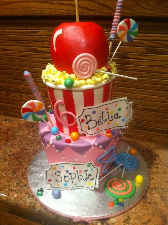 Cake Ideas For A Carnival Birthday Party